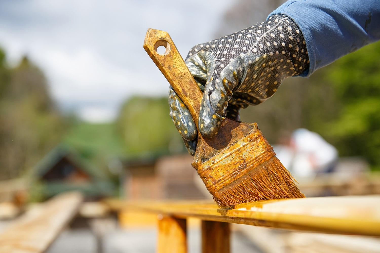 Trattamento ignifugo per legno