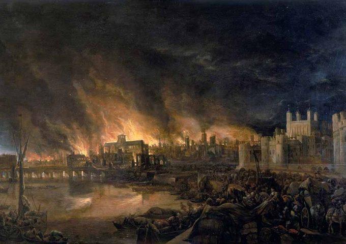 Il grande incendio di Londra