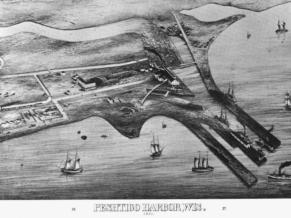L'incendio di Peshtigo del 1871
